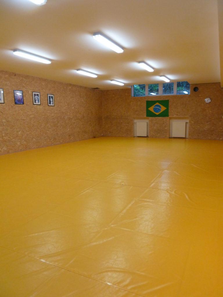Salle de cours Tatami Athénée Royal Ixelles