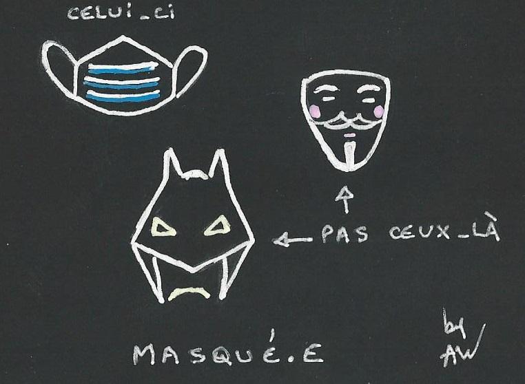Port du masque krav maga Ixelles